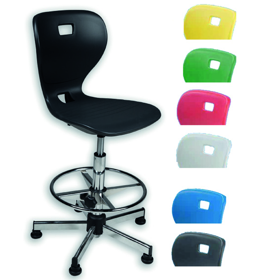 counterstuhl mit sitzschale kunststoff counterst hle mit sitzschale drehst hle mit luftsitz. Black Bedroom Furniture Sets. Home Design Ideas