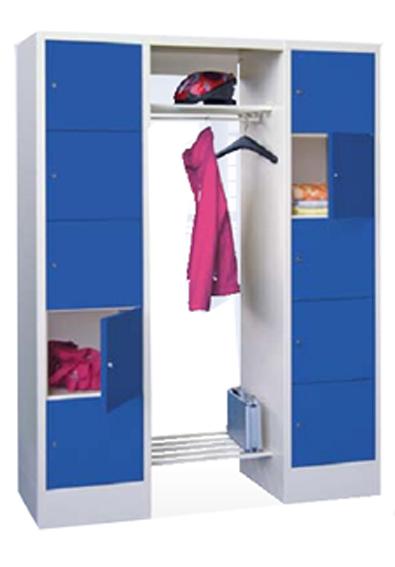 offene schlie fach garderoben schlie fachschrank aus stahl schlie fachschr nke. Black Bedroom Furniture Sets. Home Design Ideas
