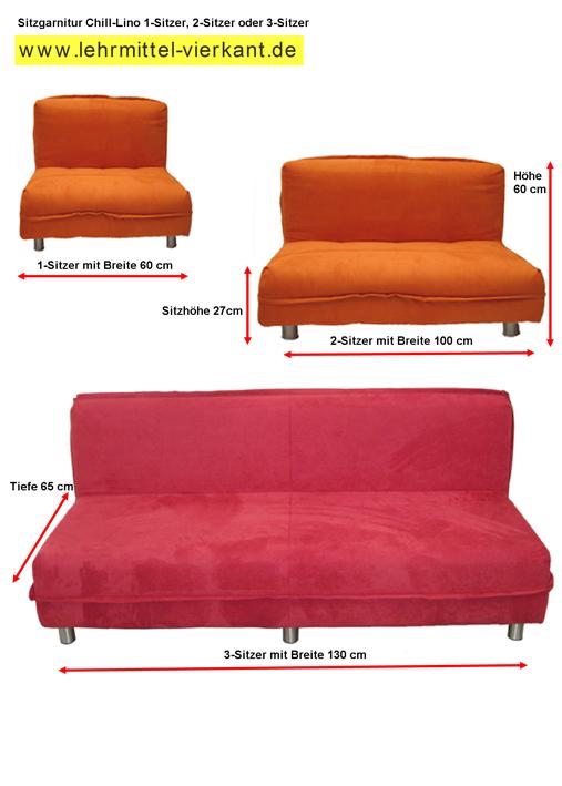 sitzgarnitur f r kindergarten sofa f r schulen. Black Bedroom Furniture Sets. Home Design Ideas