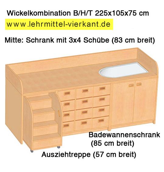 wickelkommode mit wanne und treppe wickelkommode mit. Black Bedroom Furniture Sets. Home Design Ideas